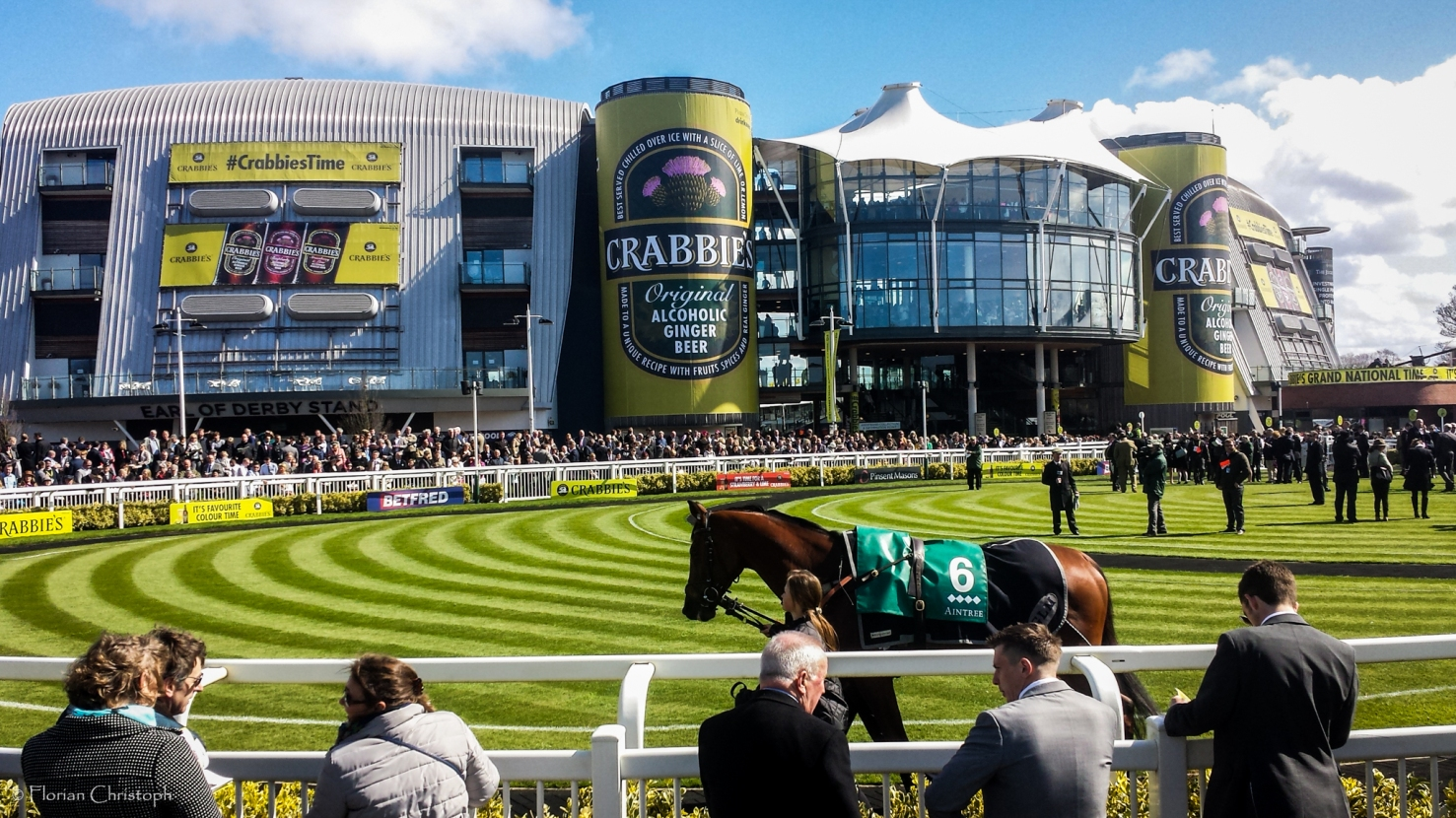 Aintree parade ring