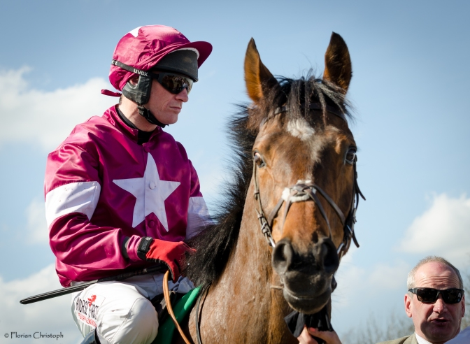 Our Duke bolts up in Irish National