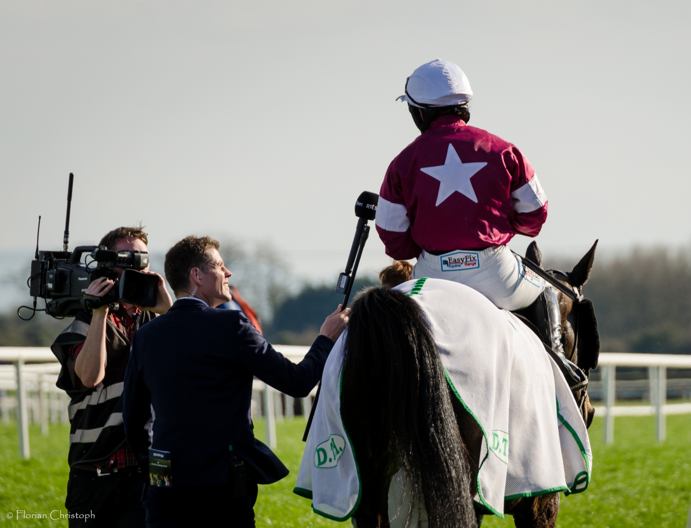 Katie Walsh and Thunder And Roses, winner of the Irish Grand National