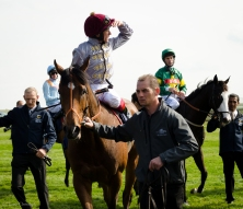 Moheet and Frankie Dettori