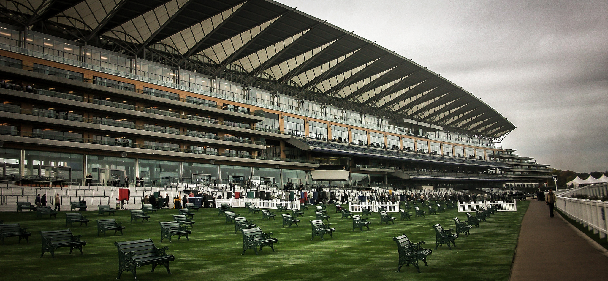 Ascot Grand Stand, by Florian Christoph